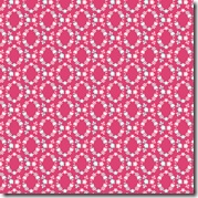 Girl Friday - Wreath Pink #4274-E