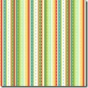 Girl Friday - Ticking Stripe Green #4273-G
