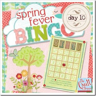Spring Fever Blog Bingo - Day 10