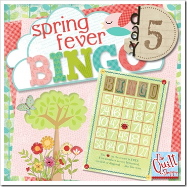 Spring Fever Blog Bingo Day Five
