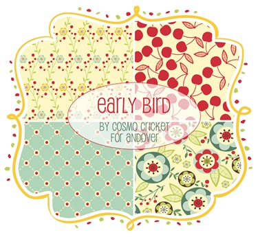 Early Bird by Cosmo Cricket for Andover Fabrics