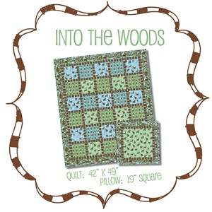 Into the Woods Quilt Kit #ITW-KIT