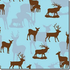 Into the Woods - Deer Blue #509-33