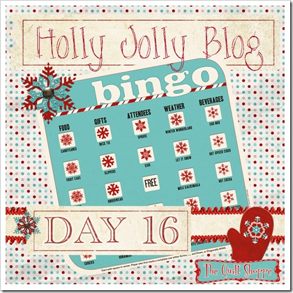 Holly Jolly Blog Bingo ... Day Sixteen