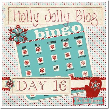 Holly Jolly Blog Bingo ... Day Sixteen