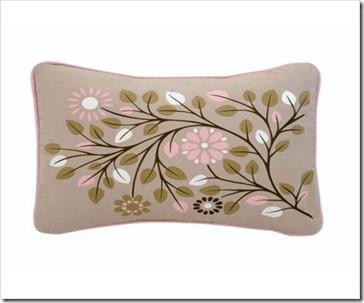 Blossom Garden Boudoir Pillow
