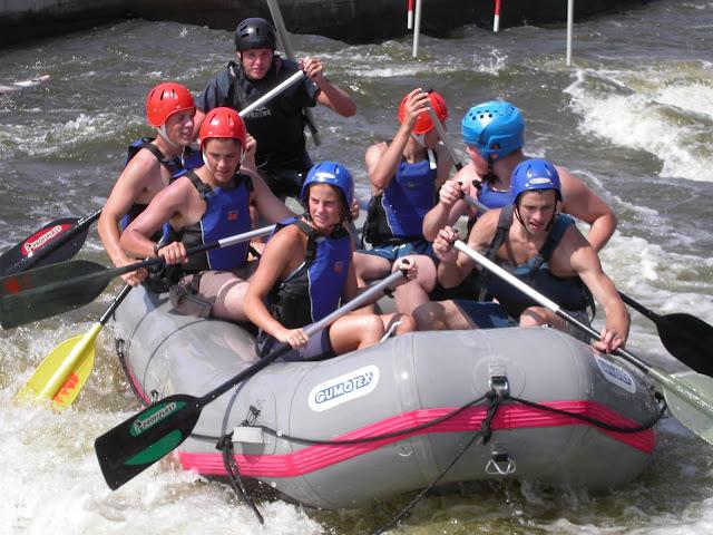 rafting Troja