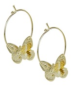 Butterfly Hoop by Forever21