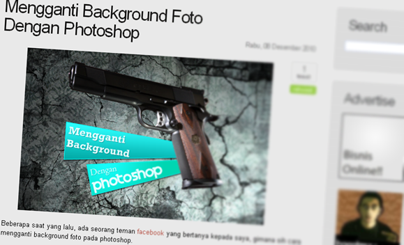 background foto dengan photoshop cara merubah background foto