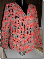 spiderweb cardigan