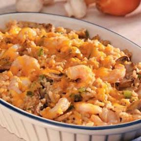 Shrimp & Rice Casserole Shrimp_cass