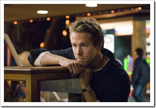Ryan Reynolds on the set of ADVENTURELAND.