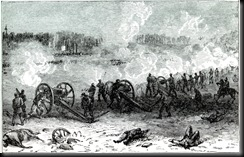 Harper's Weekly depiction of the Battle of Cold Harbor