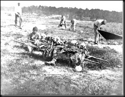 Burying the Union dead at Cold Harbor