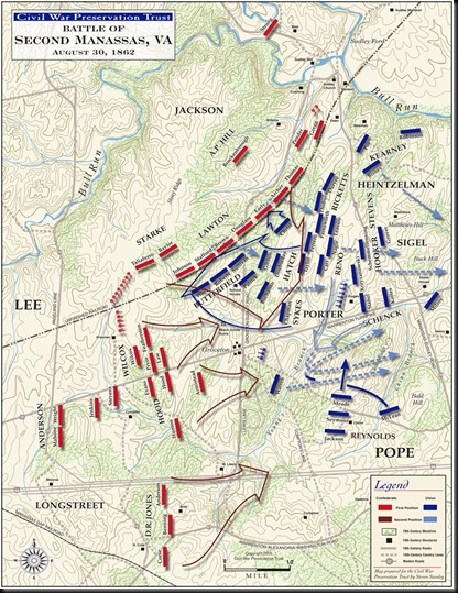 Second Manassas-August 30, 1862