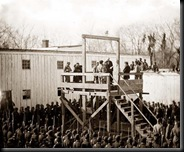 The hanging of Capt. Henry Wirz
