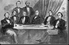 The first Davis Cabinet