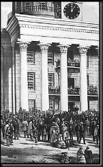 Inauguration of Jefferson Davis