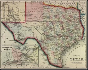 Texas in 1860