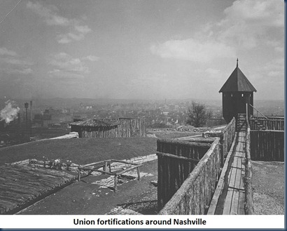 Union Fortifications at Nashville