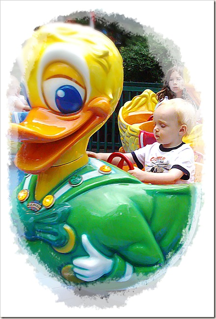 riding the duck