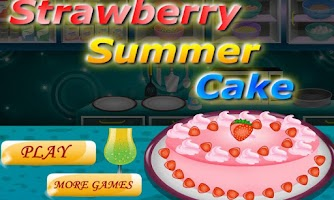 Screenshot of Strawberry Summer Cake