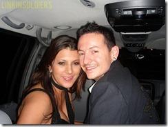 Chester Bennington y su esposa Talinda linkinsoldiers 13