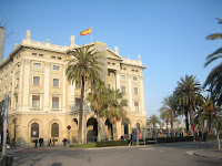 Barcelona Gothic Building - Port