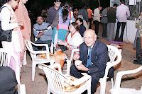 Shri R P Chandaria Enjoys The Dinner