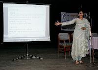 Sushri Maitribahen Introduces Bhagavadgomandal