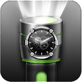 Flashlight Torch with Clock APK for Bluestacks