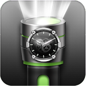 Flashlight Torch with Clock for Lollipop - Android 5.0