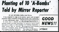 Planting of A-Bombs-Reporter