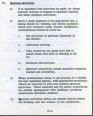 Spiritual Activities