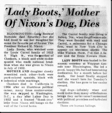 Lady Boots of Burnsides Obituary - Bloomington Herald Telephone