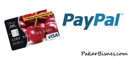 Post image for Panduan Mengaktifkan Paypal Menggunakan Maybankard Debit Card