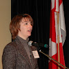 Nathalie Dubois, Director  of NB Arts Development Branch, speaks of infrastructure supporting visual arts in the province