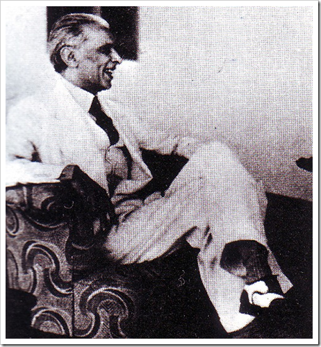 Quaid-e-Azam in a jolly mood