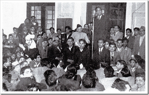 Quaid-e-Azam in Islamia College Lahore
