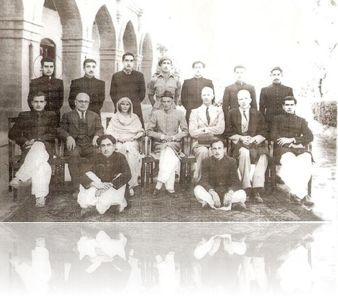 Quaid-e-Azam at Islamia College Peshawar