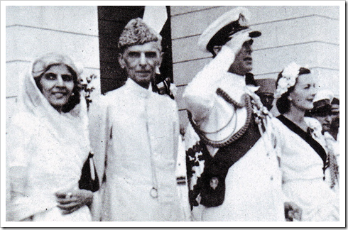 Quaid-e-Azam with Mountbatten