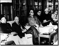 Jinnah (2nd from left)