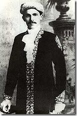 Jinnah sends a picture to his father in December 1896