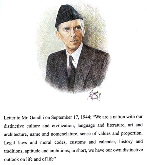 The Quaid's rejoinder to Gandhi