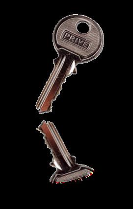llave con reflejo