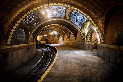 City Hall Subway Station in New York City