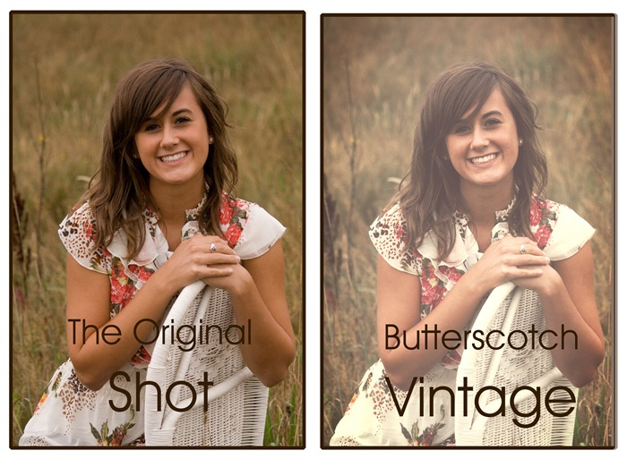 butterscotch vintage