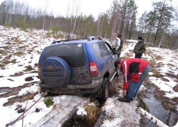 фото GPS-ориентирование на внедорожниках