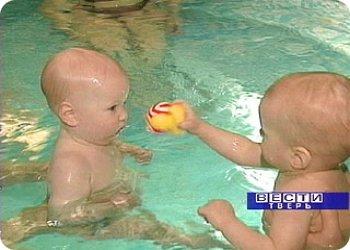 фото Акватерапия для новорожденных