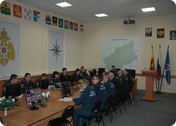 Оперативное совещание в ГУ МЧС по Тверской области